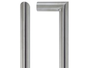 Zoo Hardware ZCS2M Contract Mitred Pull Handles (19mm Bar Diameter), Satin Stainless Steel - ZCS2M150BS
