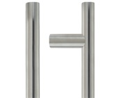 Zoo Hardware ZCSG Architectural Guardsman Pull Handles (19mm OR 21mm Bar Diameter), Satin Stainless Steel - ZCSG300BS