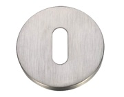 Zoo Hardware ZG4S Standard Profile Key Escutcheon, Satin Stainless Steel - ZG4S002
