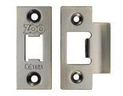 Zoo Hardware Face Plate And Strike Plate Accessory Pack, Florentine Bronze - ZLAP01FB
