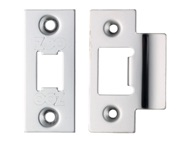 Zoo Hardware Face Plate And Strike Plate Accessory Pack, Polished Stainless Steel - ZLAP01PSS