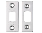 Zoo Hardware Face Plate And Strike Plate Accessory Pack, Polished Stainless Steel - ZLAP02PSS
