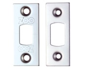 Zoo Hardware Face Plate And Strike Plate Accessory Pack, PVD Nickel - ZLAP02PVDN