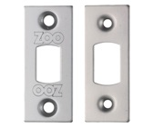 Zoo Hardware Face Plate And Strike Plate Accessory Pack, Satin Stainless Steel - ZLAP02SS