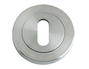 Zoo Hardware ZPS Standard Profile Escutcheon, Satin Stainless Steel - ZPS002SS