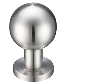 Stainless Steel Ball Mortice Door Knobs, Satin Finish   ZPS200SS (sold In  Pairs)