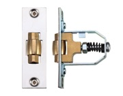 Zoo Hardware Adjustable Roller Latch (76mm), Polished Stainless Steel - ZRL76PSS