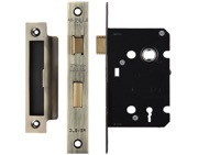 Zoo Hardware 3 Lever Contract Sash Lock (64mm OR 76mm), Florentine Bronze - ZSC364FB