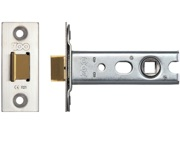Zoo Hardware Double Sprung Tubular Latches (Bolt Through) - Stainless Steel Finish - ZTLKA64