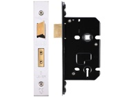 Zoo Hardware 3 Lever Sash Lock (67.5mm OR 79.5mm), Satin Stainless Steel - ZUKS364SS