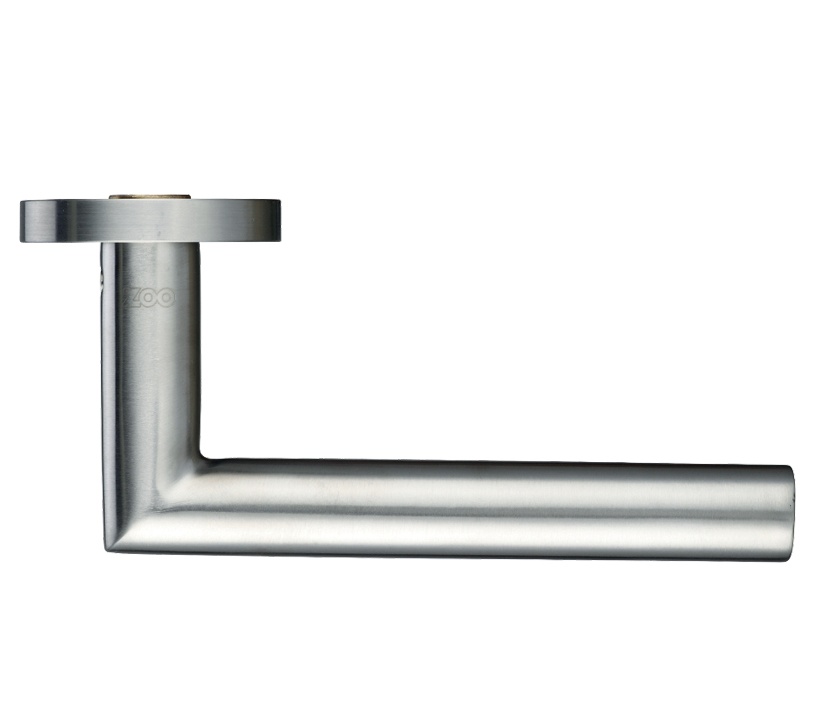 Zoo Hardware Zcs Architectural Mitred Lever On Round Rose