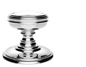 Carlisle Brass Delamain Plain Door Knobs (Concealed Fix), Polished Chrome - DK35CCP