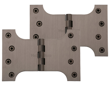 Heritage Brass 6 Inch Parliament Hinges, Matt Bronze - HG99-395-MB (sold in pairs)