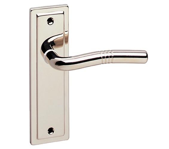 Nevada Door Handles Euro Lock Polished