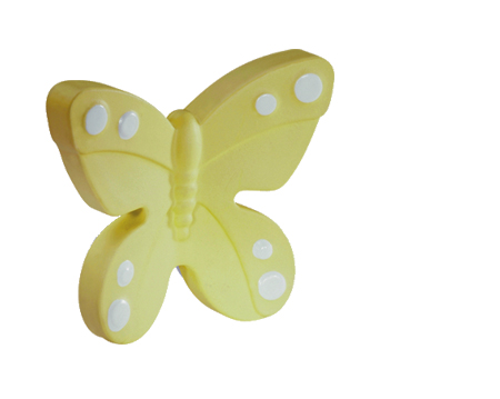 Siro 'Yellow Butterfly' Cabinet Knob - H14340A67